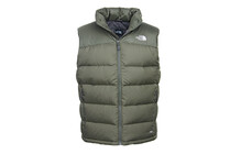The North Face Men's Nuptse 2 Veste sans manches vert figue